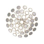Cole & Grey Metal Mirror Wall Decor