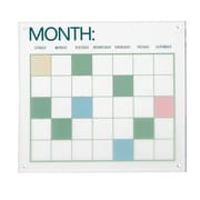 Cole & Grey Acrylic Calendar Wall D cor