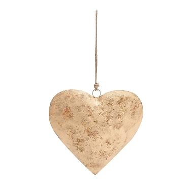 Cole & Grey Decorative Metal Heart Figurine