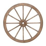 Cole & Grey Wood Wagon Wheel Wall Decor