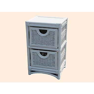 Highland Dunes Cabery 2 Drawer Accent Cabinet