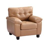 Alcott Hill Old Westbury Arm Chair; Tan