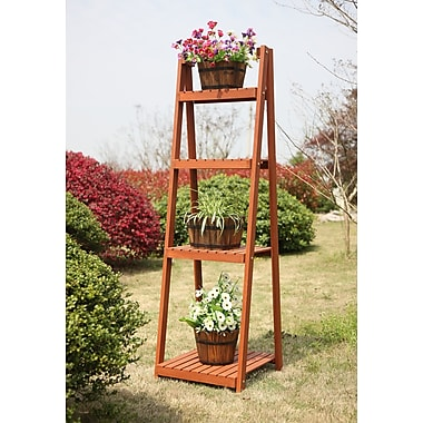 August Grove Sanford Multi-Tier Etagere Plant Stand