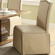 Alcott Hill Fredericksburg Skirted Parson Chair (Set of 2)