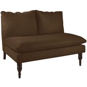Alcott Hill Loveseat; Chocolate