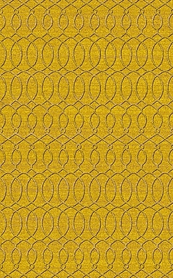 Alcott Hill Grange Yellow Area Rug; 2' x 3'