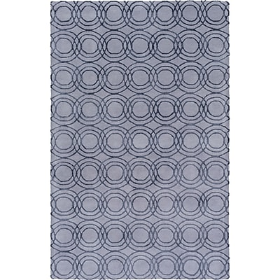 Alcott Hill Meader Hand-Tufted Gray Area Rug; 8' x 10'