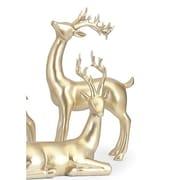 Alcott Hill Reindeer Figurine; Gold