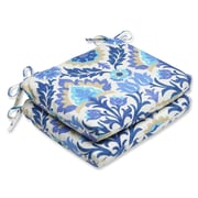 Alcott Hill Rockhill Outdoor Seat Cushion (Set of 2); Azure