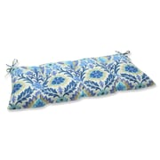 Alcott Hill Rockhill Outdoor Loveseat Cushion; Azure