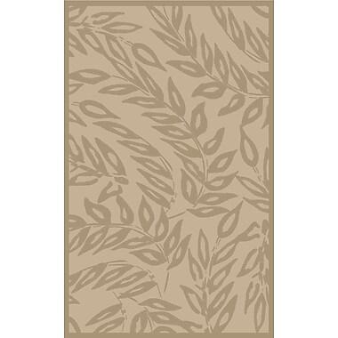 Martha Stewart Rugs Breeze Tufted-Hand-Loomed Beige/Brown Area Rug; Rectangle 9' x 12'