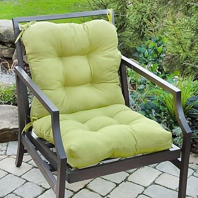 Alcott Hill Outdoor Lounge Chair Cushion; Kiwi