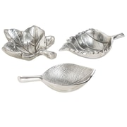 Alcott Hill 3 Piece Leaf Shaped Bowl Set