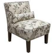 Alcott Hill Thurston Uphosltered Slipper Chair; Roberta Winter