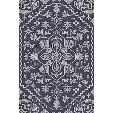 Astoria Grand L'Ermitage Hand-Knotted Blue Area Rug; 9' x 12'