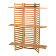 Eddie's Hang-Up Display Ltd. Wooden Folding Retail Shelving Unit, Pine (215300)
