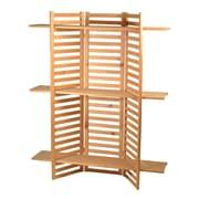 Eddie's Hang-Up Display Ltd. - Étagères de présentation pliables en bois, pin (215300)