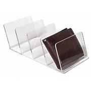 Eddie's Hang-Up Display Ltd. - Présentoir de portefeuilles, acrylique, transparent, 4 fentes, 10/paquet (165005)