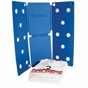 "Eddie's Hang-Up Display Ltd. FlipFold Shirt Folder, 9"" x 12"" Blue, 5/Pack (161002)"