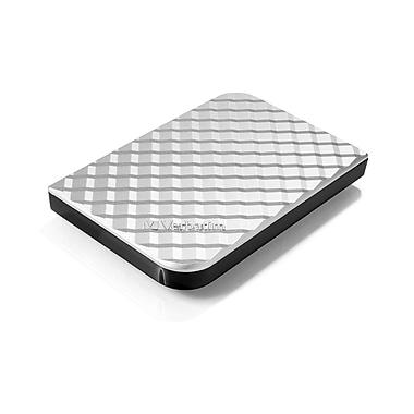 Verbatim® 1TB Store 'n' Go USB 3.0 Portable Hard Drive, Diamond Silver (99373)