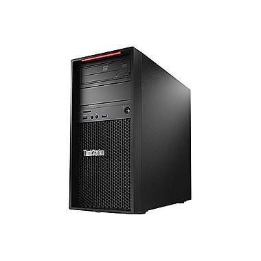 Lenovo - PC de table 30B3001SUS ThinkStation P410 SFF, 3,7 GHz Intel Xeon E5-1630, SSD 256 Go, 4 Go, Win10 Pro