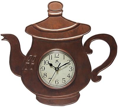 Infinity Instruments 13.75'' Wall Clock, Brew Time (15195BZ-4055)