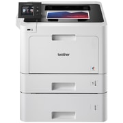 Brother® HLL8360CDWT Color Laser Single-Function Printer with Duplex Printing, Wireless Networking and Dual Trays