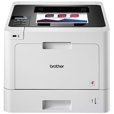 Brother Printer HLL8260CDW Business Color Laser Printer, Duplex Printing, Wireless Networking