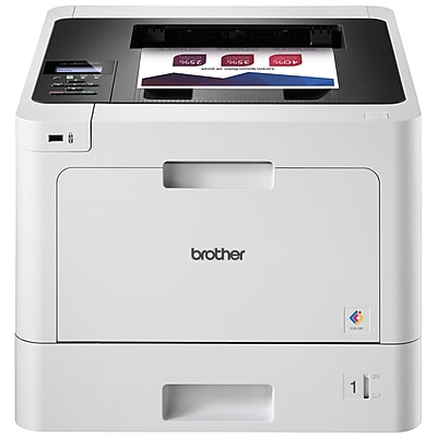 Brother® HLL8260CDW Color Laser Single-Function Printer with Duplex Printing and Wireless Networking