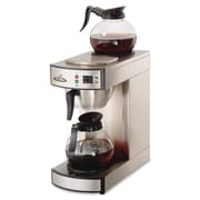 CoffeePro Twin Warmer Institutional Coffee Maker, 2.32 quart, 12 Cup(s), Stainless Steel, Stainless Steel