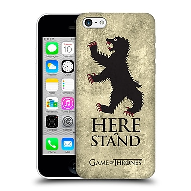 Official Hbo Game Of Thrones Dark Distressed Sigils Mormont Hard Back Case For Apple Iphone 5C