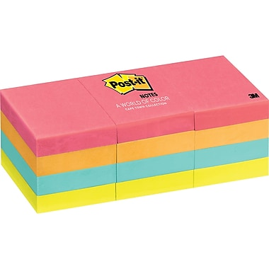 Post-it® Notes, Cape Town Collection, 1.5