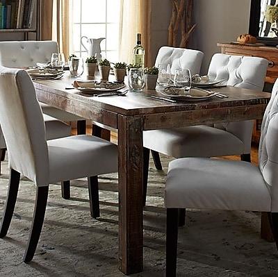 Kosas Home Kosas Home Harbor Dining Table; Lime Wash