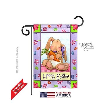 TwoGroupFlagCo Bunny and Beans 2-Sided Vertical Flag; 40'' H x 28'' W