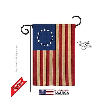 TwoGroupFlagCo Betsy Ross Vintage 2-Sided Vertical Flag; 40'' H x 28'' W