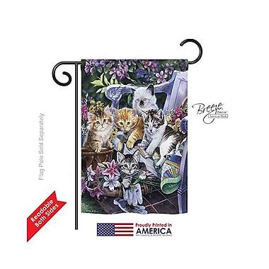 TwoGroupFlagCo Purfect Gardening Buddies 2-Sided Vertical Flag; 40'' H x 28'' W