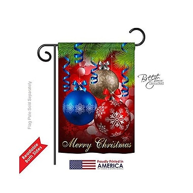 TwoGroupFlagCo Ornaments 2-Sided Vertical Flag; 18.5'' H x 13'' W