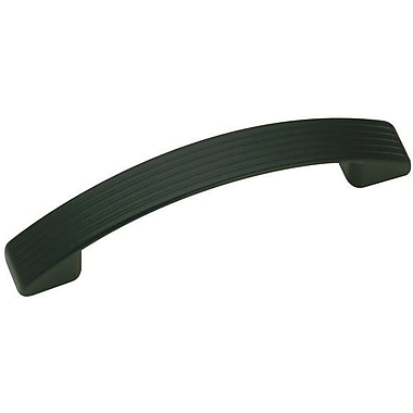Richelieu 3 7/9'' Center Arch Pull; Matte Black