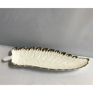 Imperial Gift Co. Casabella Leaf Platter