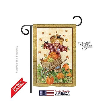 TwoGroupFlagCo Scarecrow 2-Sided Vertical Flag; 40'' H x 28'' W