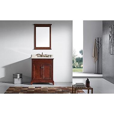 Eviva Elite Stamford 30'' Single Bathroom Vanity Set; Brown