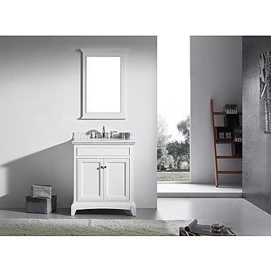 Eviva Elite Stamford 30'' Single Bathroom Vanity Set; White