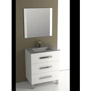 Eviva Libra  31.5'' Single Bathroom Vanity Set; White