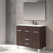 Eviva Venus  36'' Single Bathroom Vanity Set; Wenge