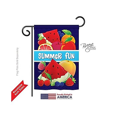 TwoGroupFlagCo Summer Fun 2-Sided Vertical Flag; 40'' H x 28'' W