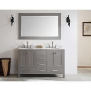Brayden Studio Pichardo 60'' Double Bathroom Vanity Set