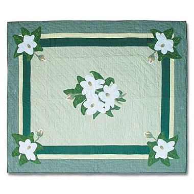 Patch Magic Magnolia Blossoms Quilt; King