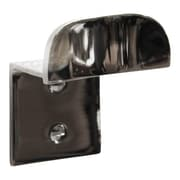 RCH Supply Company Modern Brass Single Arm Wall Hook; Polished Nickel