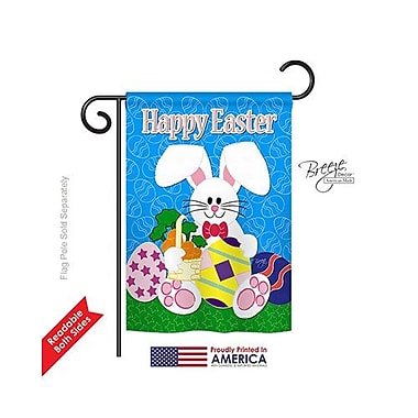 TwoGroupFlagCo Happy Bunny 2-Sided Vertical Flag; 40'' H x 28'' W