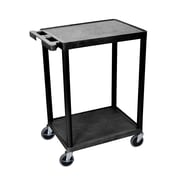 Offex 2 Shelf Utility Cart